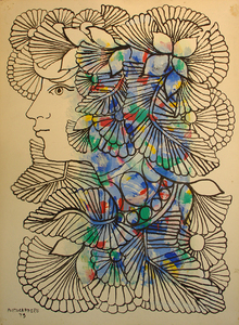 Woman in Profile, 1979 - Rene Portocarrero