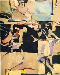 Urbana No. 6 - Richard Diebenkorn