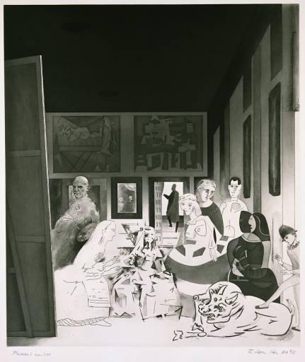 Picasso's meninas, 1973 - Richard Hamilton