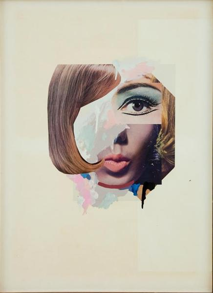 Study for a Fashion plate, 1969 - Richard Hamilton