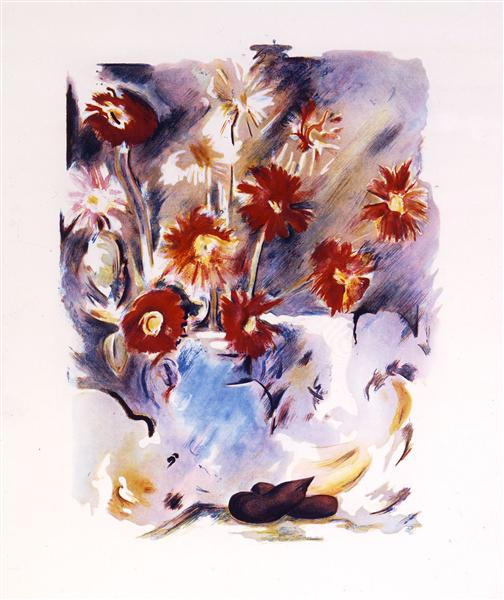 Trichromatic Flower Piece, 1974 - Richard Hamilton