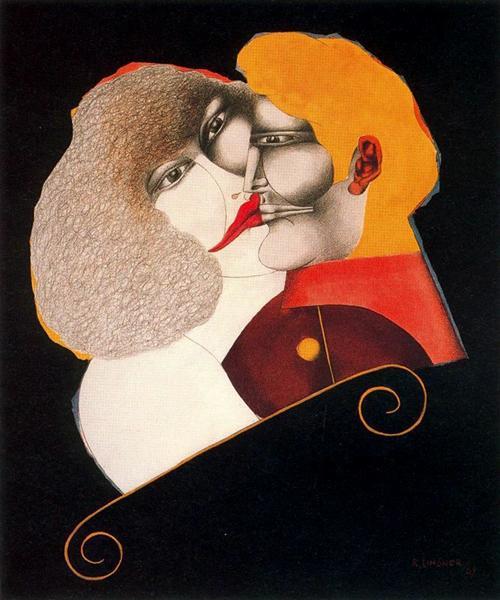 Kiss - Richard Lindner
