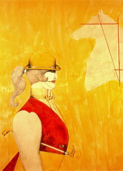 Untitled, 1969 - Richard Lindner