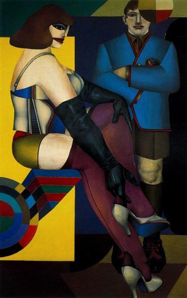 Untitled No. 2 - Richard Lindner