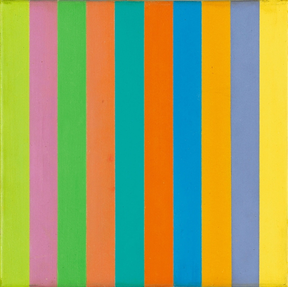 Diffusion of Two Groups of Colour, 1949 - Richard Paul Lohse