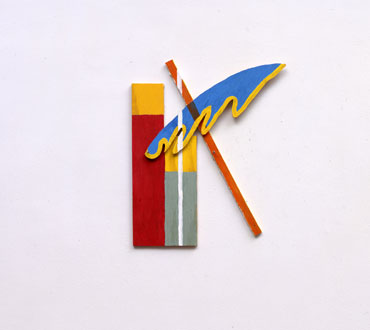 Between Two Point, #8, 2001 - Richard Tuttle