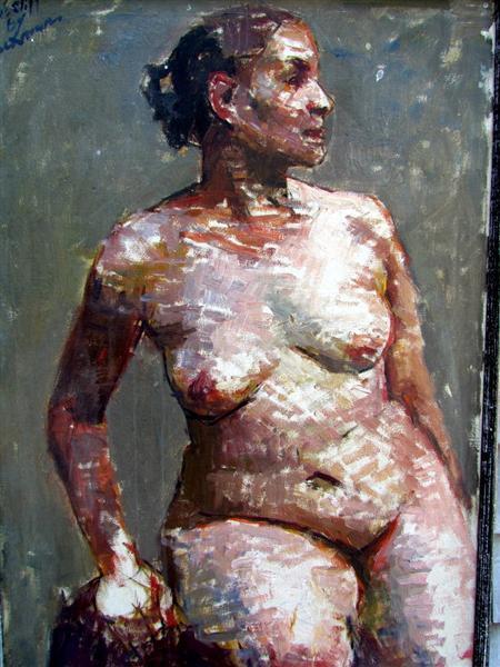 Nude Portrait - Роберт Бракман