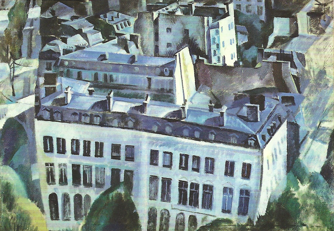 Study for The City, 1909-1910