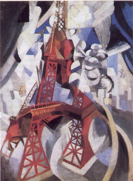 The Red Tower, 1911 - Робер Делоне