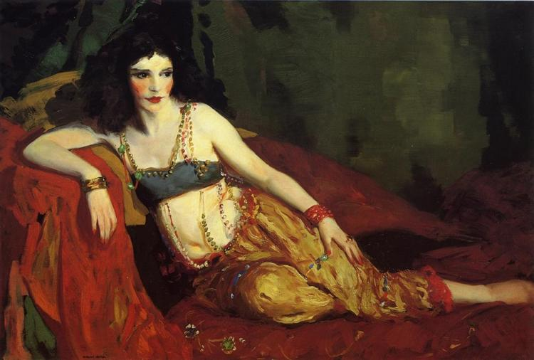 Dancer of Delhi (Betalo Rubino) - Robert Henri