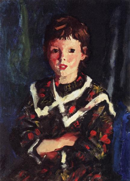Dark Bridget Lavelle, 1928 - Robert Henri