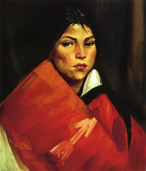 Indian Girl, 1916 - Robert Henri