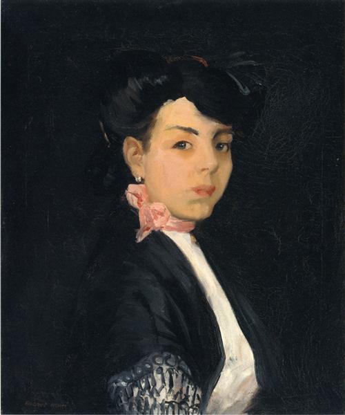 Modestilla de Madrid, 1906 - Robert Henri