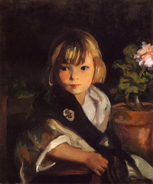 Portrait of Boby - Robert Henri
