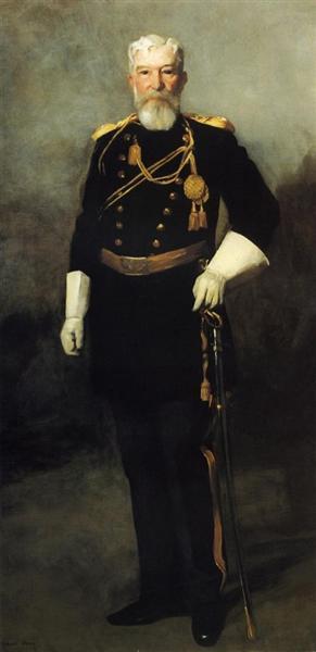 Portrait of Colonel David Perry, 9th U. S. Cavalry, 1907 - Robert Henri