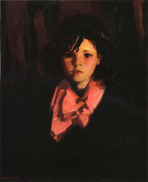 Portrait of Mary Ann, 1926 - Robert Henri