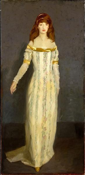 The Masquerade Dress, 1911 - Robert Henri