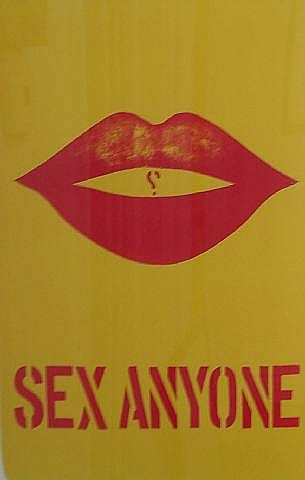 Sex Anyone?, 1964 - Robert Indiana