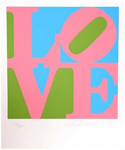 The Book of Love #11, 1996 - Robert Indiana