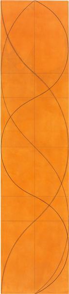 Column Painting 16, 2004 - Robert Mangold