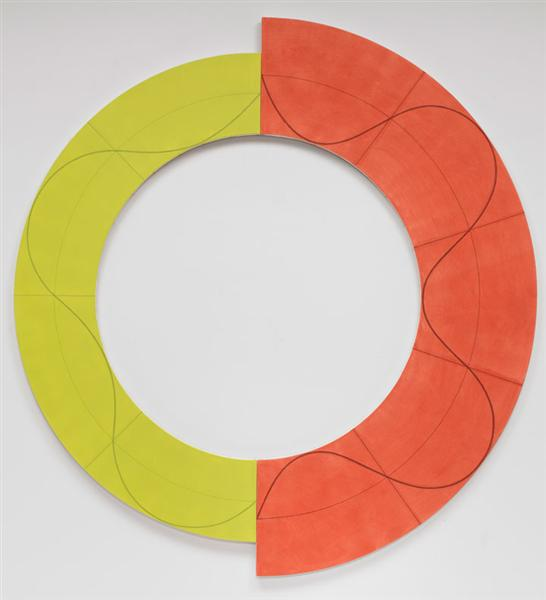 Split Ring Image 1, 2009 - Robert Mangold