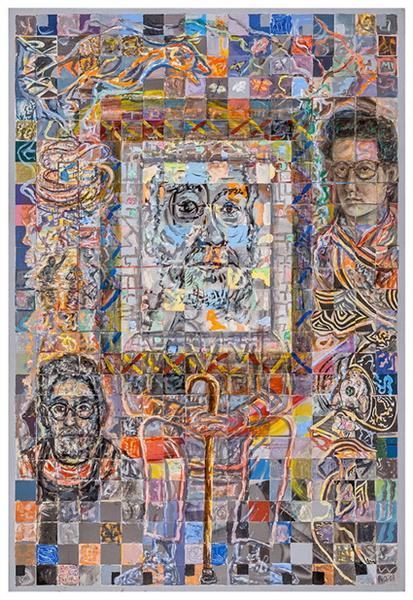 Big Self-Portrait, 2003 - Robert Qualters