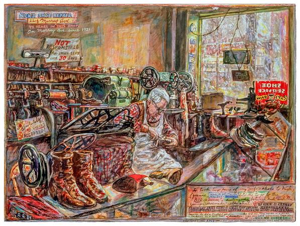 Nick's Shoe Repair, 1984 - Robert Qualters