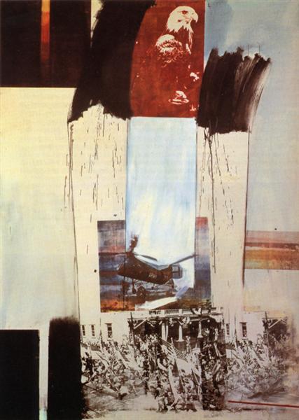 Kite, 1963 - Robert Rauschenberg
