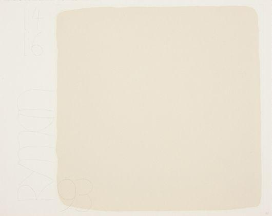 Untitled, from BAM III, 1993 - Robert Ryman