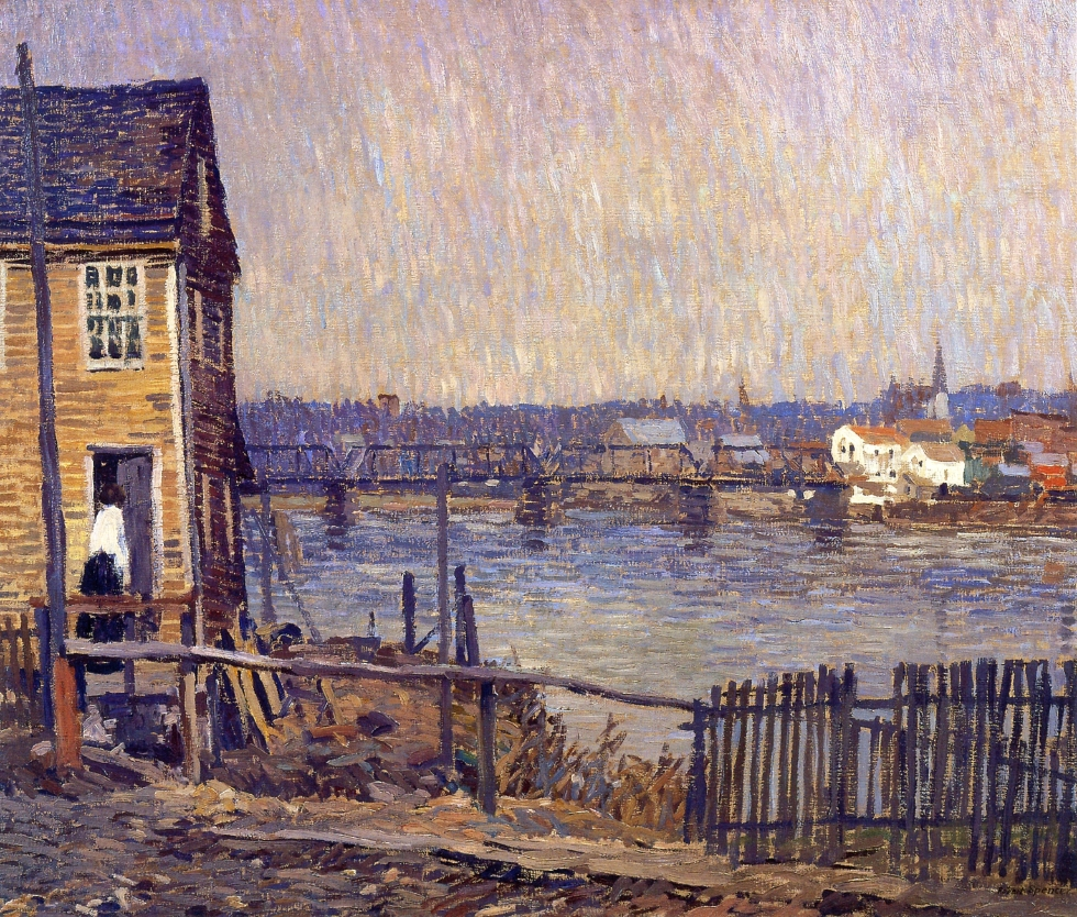 A Fisherman's House, 1917