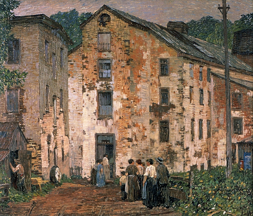 Grey Mills, 1915