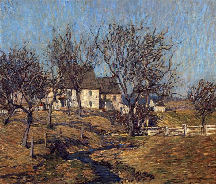 The Brook, 1915 - Robert Spencer