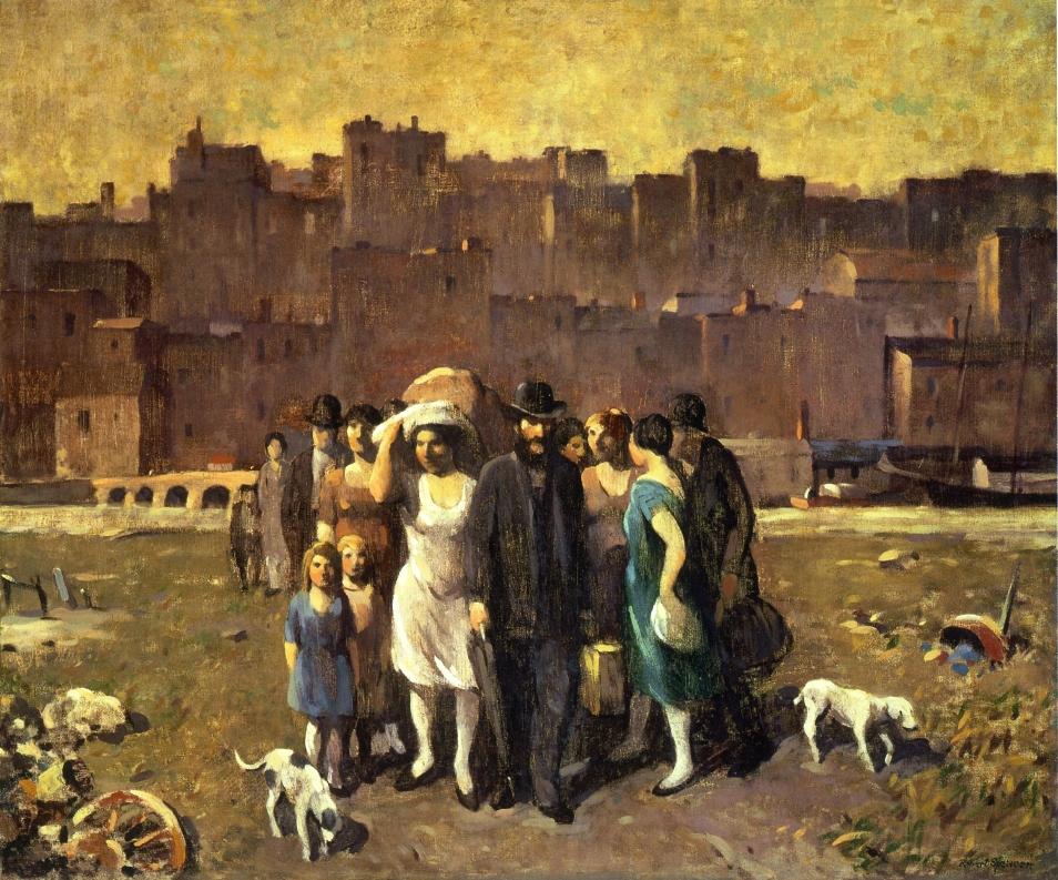 The Exodus, 1928
