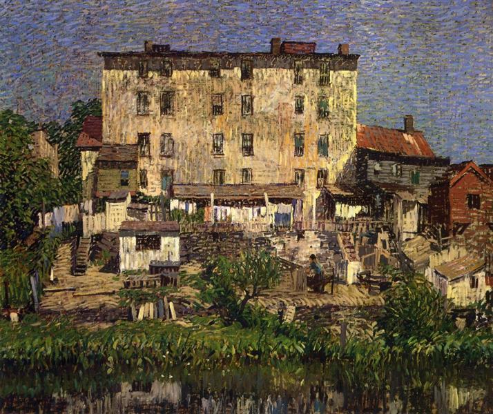 The White Tenement, 1913 - Robert Spencer
