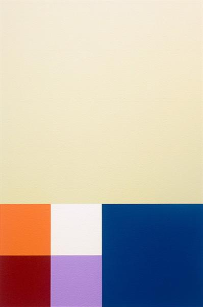 Untitled, 6x4-04, 6'x4', 1986 - Robert Swain
