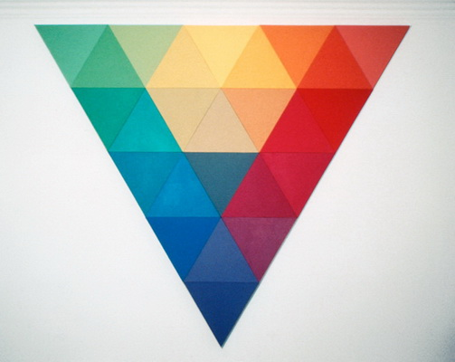 Untitled, Triangle, 8'H, 1969 - Robert Swain