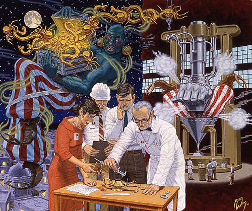 Putting The Genie Back in the Bottle, 2000 - Robert Williams