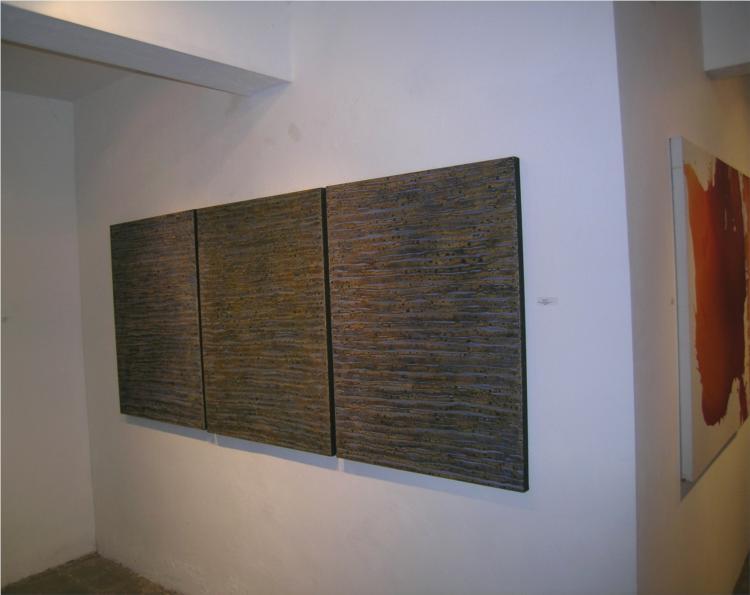 "Installation  ""Half Moon Bay""    Triptych  2008, 2008 - Roger Weik"