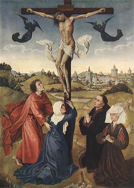 Crucifixion, 1440 - 1445 - Rogier van der Weyden