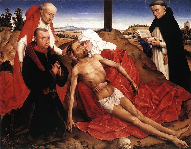 Lamentation, 1441 - Rogier van der Weyden