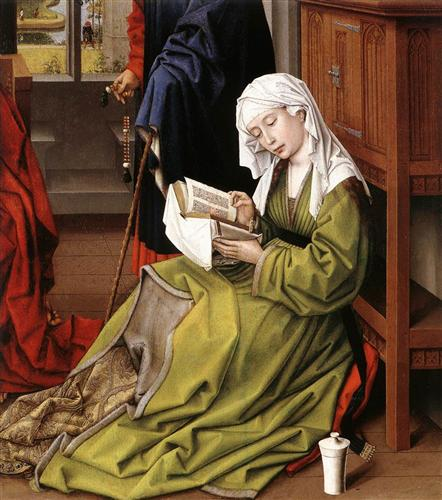 The Magdalene Reading  - Rogier van der Weyden