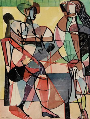 The Family  - Romare Bearden