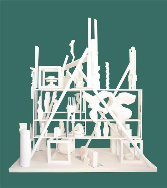 Memory Pyramid (Vital Soaring 2), 1965 - Romul Nutiu