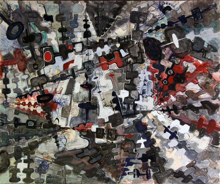 Modular Composition I, 1965 - Romul Nutiu