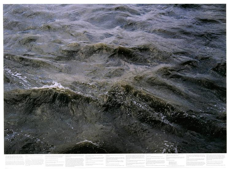 Untitled (from the series Still Water (The River Thames, for Example)), 1999 - Roni Horn