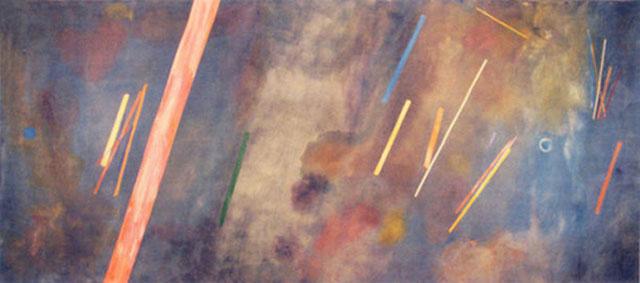 For William Blake, 1968 - Ronnie Landfield