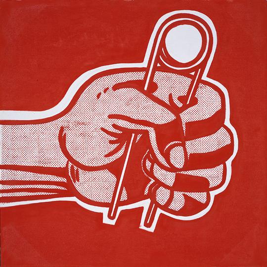 The grip, 1962 - Roy Lichtenstein
