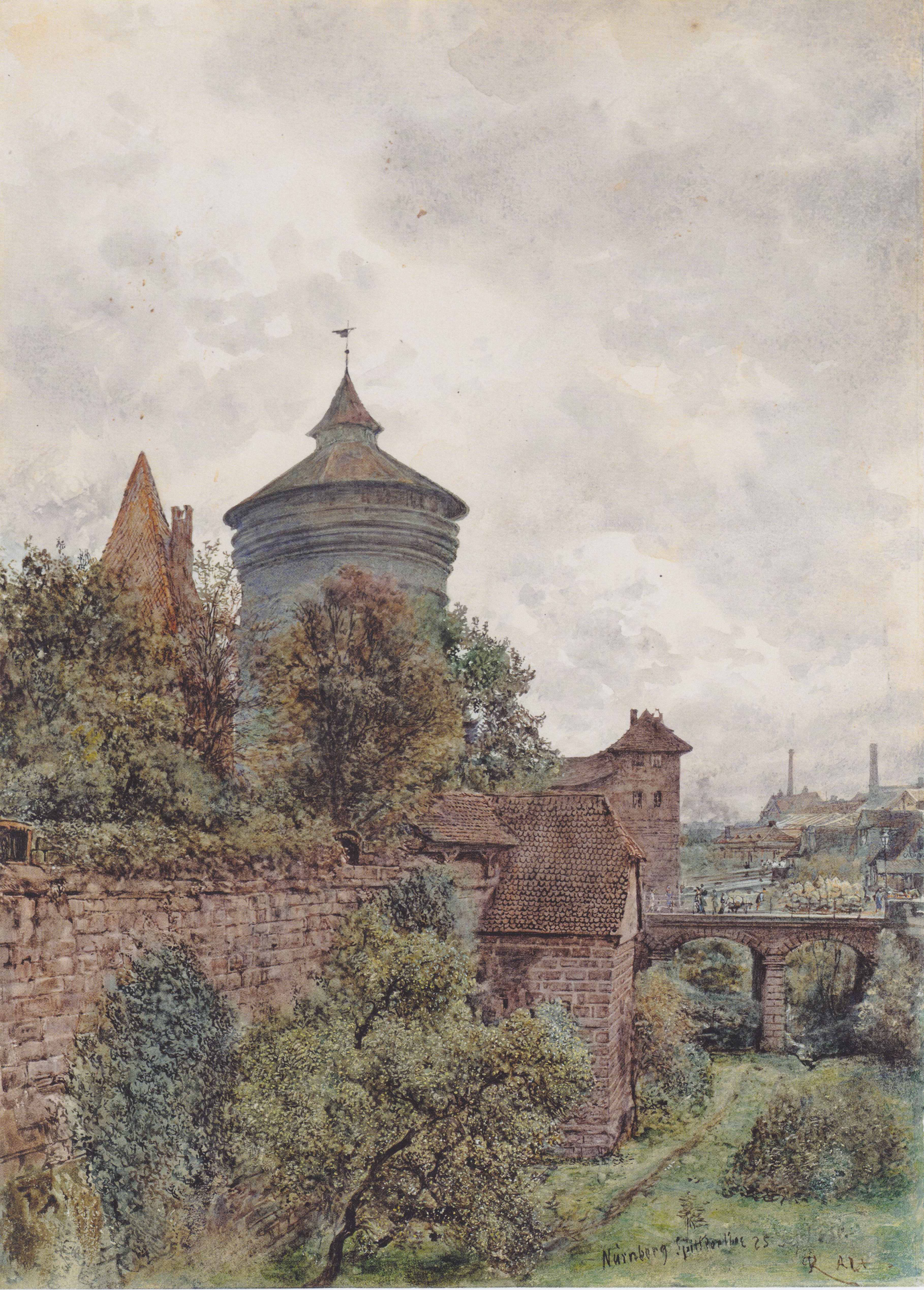 The Spittler in Nuremberg, 1856