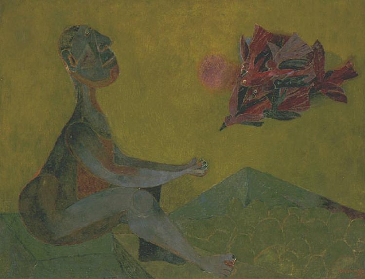 Friend of the Birds, 1944 - Rufino Tamayo