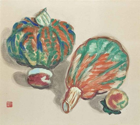 Pumpkin - Umehara Ryuzaburo
